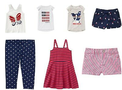 NEW Gymboree girls STAR SPANGLED DAYS tee shorts legging 4 5 6 7 8 YOU - Star Spangled Girl