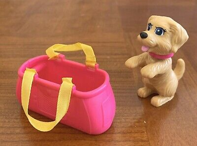 Barbie Doll Strollin Pup With Dog Basket Stroller Replacement Accessories