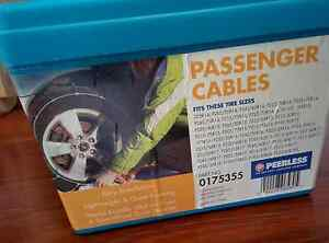 Snow Chains- Winter Track Passenger Car Tyre Cables 175355 Brunswick East Moreland Area Preview