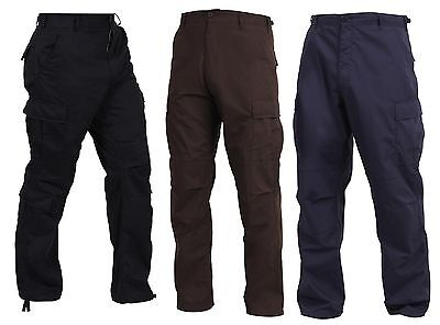 Tactical SWAT Cloth BDU Cargo Pants - Rothco Military & Security Uniform Pant (Swat Uniform)