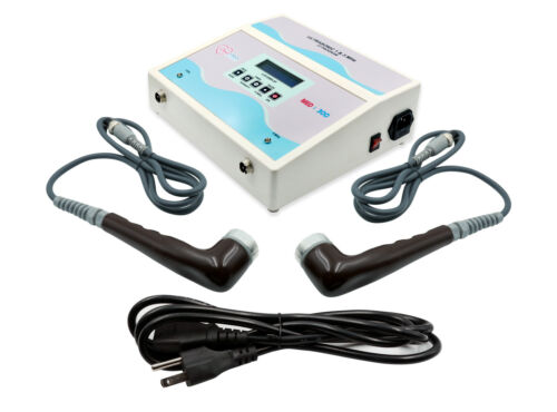 Med 300 Ultrasound Therapy 1MHz- 3MHz Machine Electrotherapy Pulse Massager Unit