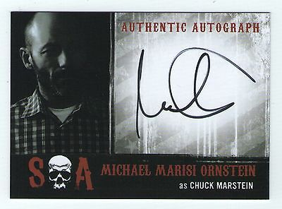 Sons Of Anarchy Seasons 6   7 Autograph Card Mo Michael Marisi Ornstein   Chuck