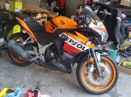 2012 Honda CBR 250r Motorcycle Repsol
