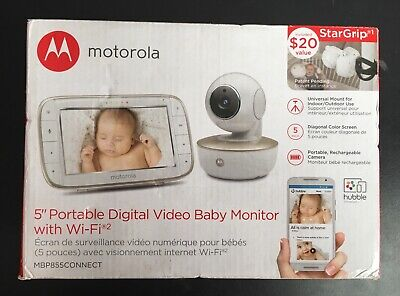 Motorola MBP855CONNECT Portable 5-Inch Color Screen Video Baby -OPEN BOX-