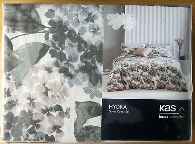 KAS Australia DOUBLE Duvet Cover Set HYDRA New