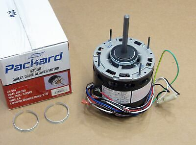 Air Handler Furnace Hvac Blower Motor 43590 5-58 Diameter 34 Hp 1075 Rpm 230v
