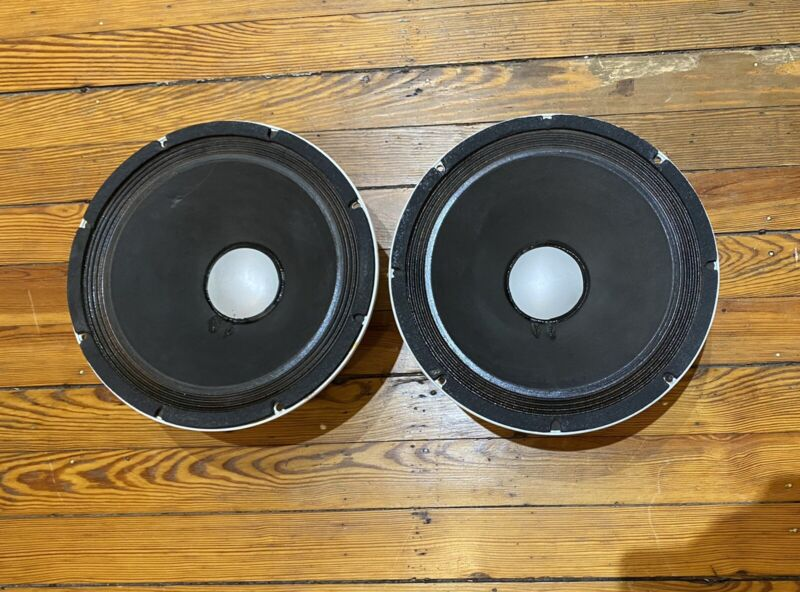 Altec 417-8h Series ii Alnico Guitar Amp Speakers Matched Pair