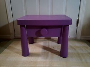 IKEA kids' bedside table