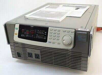 Kikusui Pcr500l 15011324 Ac Power Supply 0-100v 5a Or 0-200v 2.5a