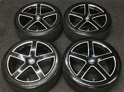 "TSW Rivage 20"" Black Wheels & Tires BMW 740i 740Li 750Li 750i Rims"