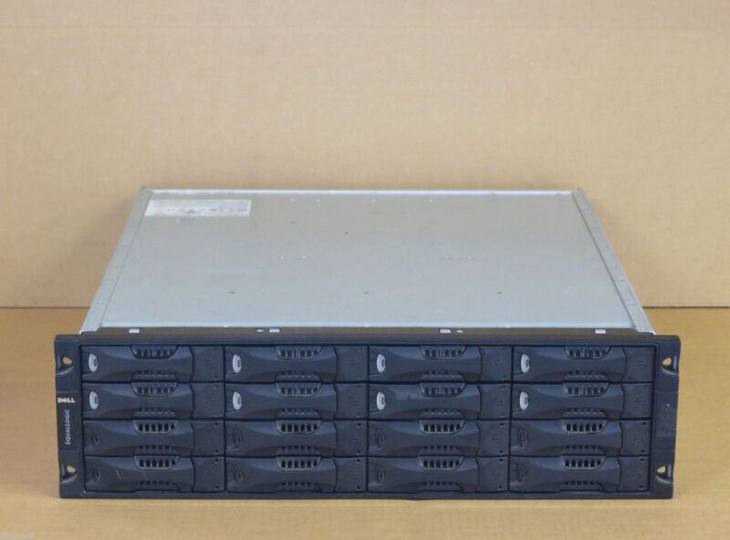 Dell EqualLogic PS5000E 16TB 16x 1TB SATA Dual Control  iSCSI SAN Storage PS5000