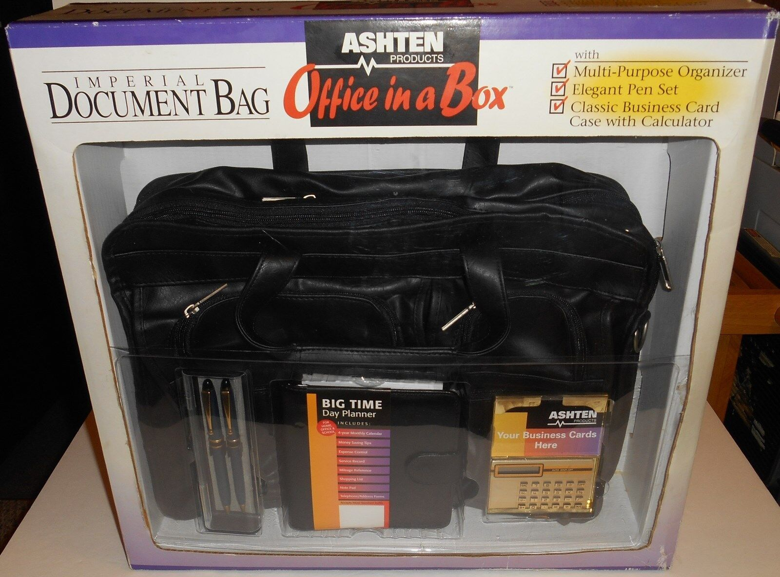 Ashton Products Imperial Expandable Document Office In A Bag