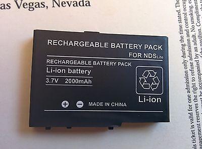 2000Mah Li Io Battery Pack For Nintendo Ds Lite
