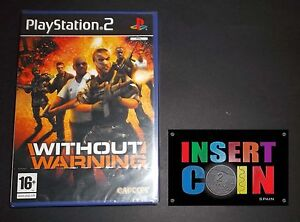 JUEGO-WITHOUT-WARNING-PLAYSTATION-2-SEALED-PS1-PS2-PS3
