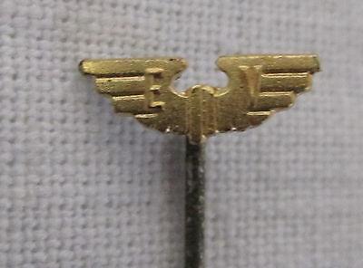 um 1925 Miniatur Nadel EISENBAHN VEREIN - E V und geflügeltes Rad - ORIGINAL !