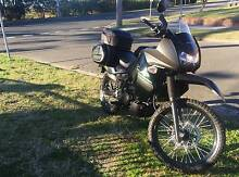"""15/16 KLR 650 CARBON LOW KAYS """"3030"""" REGO + Warranty 10/2017 Kyeemagh Rockdale Area Preview"""