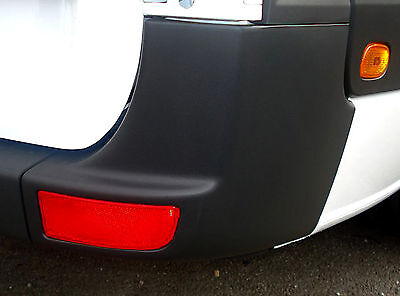 VW Crafter Rear Bumper Corner Panel RIGHT O/S + FREE Reflector NEW