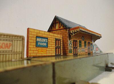 alter Bing Bahnhof Spur H0 / 00 für Tischbahn englische Ausführung Top Zustand
