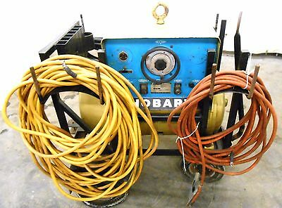 Hobart Welder M-300 12cw-51253 1744 20 Hp 300 Amps With Welder Cables