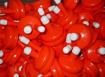 STANDARD CARBOY CAP ORANGE NEW TYPE FITS ALMOST ALL 3-5-6 GALLON PLASTIC & (Standard Glasses)
