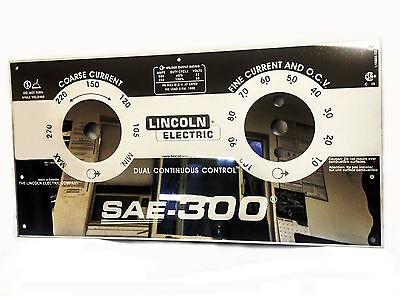 Lincoln Sae-300 L15885 Ee Mirrored Stainless Steel Face Plate Bw677