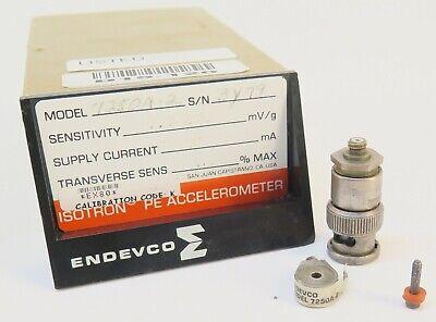 Endevco 7250a-2 Vibration Piezoelectric Accelerometer