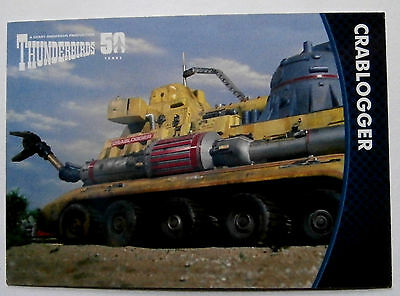 THUNDERBIRDS 50 YEARS - Card #29 - Gerry Anderson - Unstoppable Cards Ltd 2015