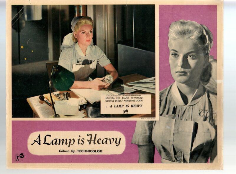 Lamp Is Heavy-Belinda Lee-11x14-Color-Lobby Card