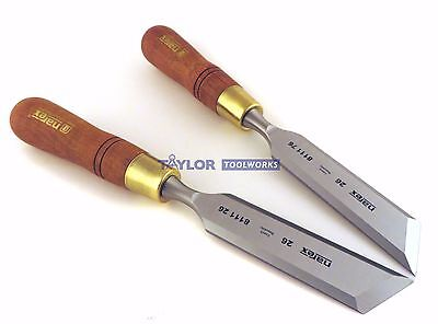 Narex Czech Republic Right Left 26 Mm Skew Paring Chisels 811126811176