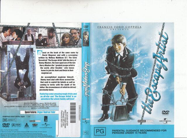 The Escape Artist-1982-Raul Julia-Movie-DVD