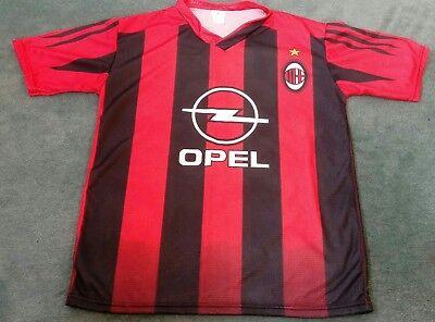 Christian Vieri AC Milan Jersey Adult Small