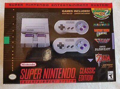 Wonderful Nintendo Entertainment System SNES Classic Edition Mini