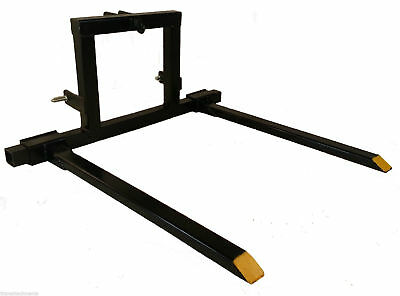 Titan 3 Point Hitch Pallet Fork Attachment Category 1 Tractor Carryall 3pt-pf