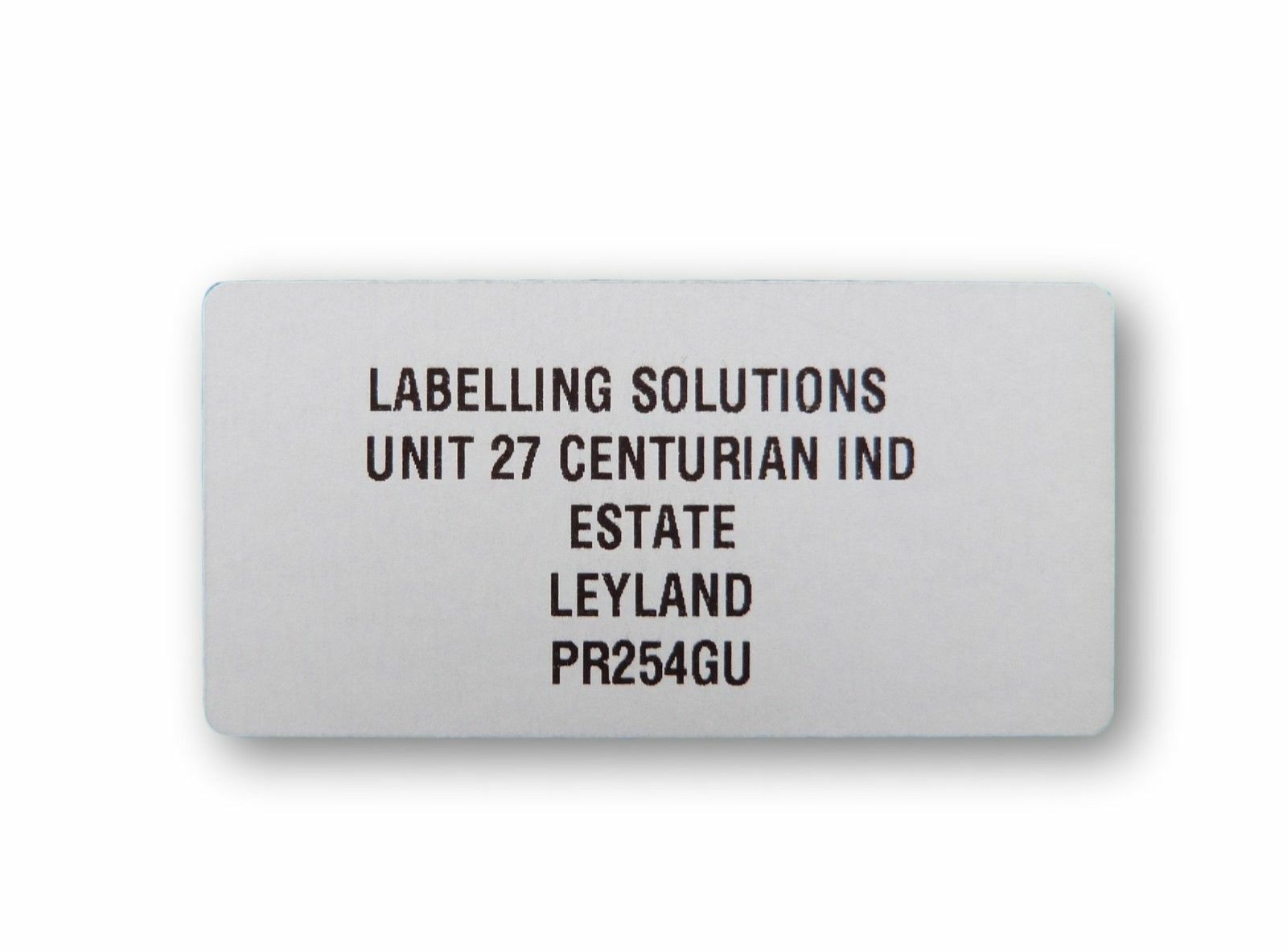 100 x personalised stickers 25mm x 50mm custom address return labels postage