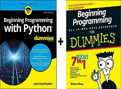 Beginning Programming with Python For Dummies 2nd Edition ᑭ.ᗪ.ᖴ + Gift Read Desc