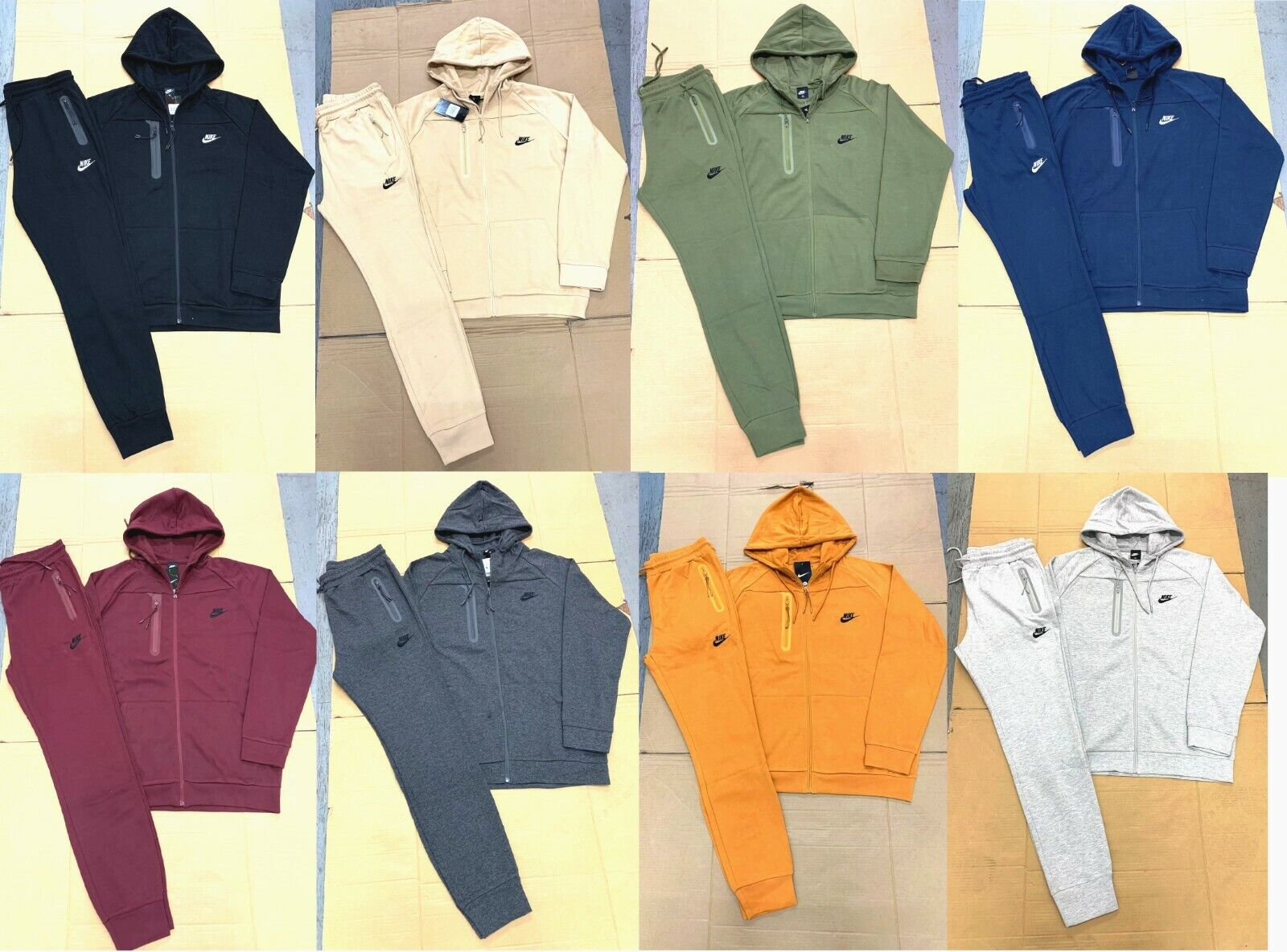 sweatsuit complete set hoodie and joggers full