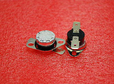 2pcs Thermostat 104f Temperature Thermal Switch Normaly Close Ksd301 40c A324