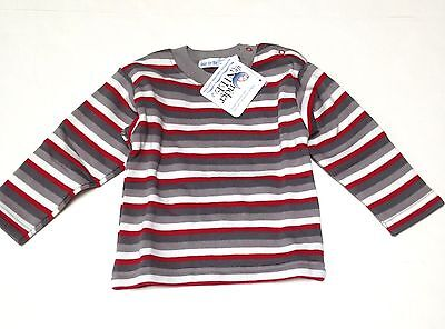Under the Nile Organic Cotton Sherpa Top Sz 3mo~Panda Stripe~New Tags
