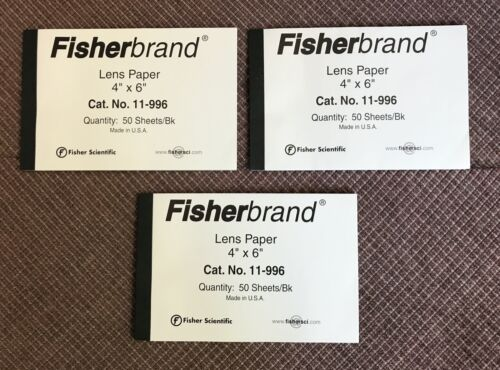 Fisherbrand   Lens  Optical Cleaning Tissue Paper - NEW
