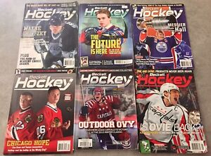 Lot of ****6***** Beckett Hockey Guides! + 1 Free Guide
