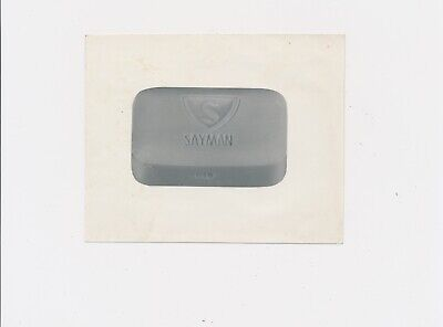 1960's SAYMAN SOAP BAR vintage W.C.Runder Stamped Image / Product Advertising