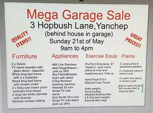 Mega Garage Sale Yanchep Sunday 21 May 9 to 4pm Yanchep Wanneroo Area Preview