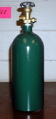 20 Cf Welding Cylinder Tank Bottle For Argon Helium Nitrogen 20cf-580