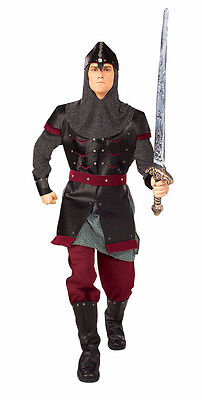 Medieval Man Knight Warrior Royal Guard Fancy Up Dress Halloween Adult Costume