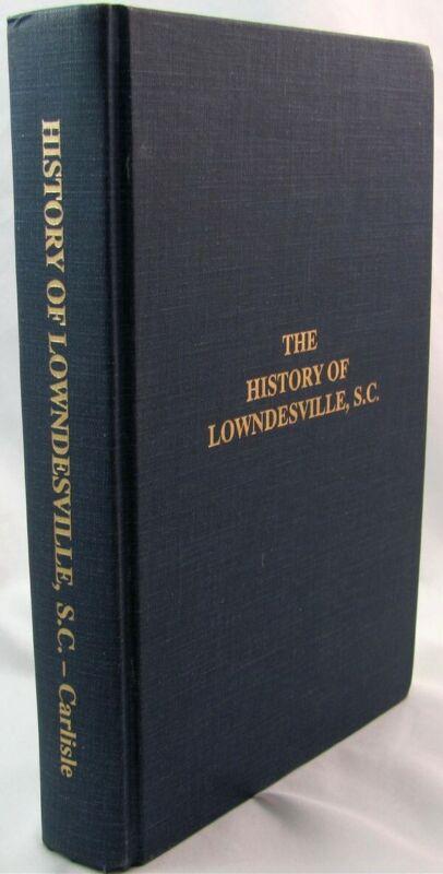 History of Lowndesville South Carolina. Abbeville County.