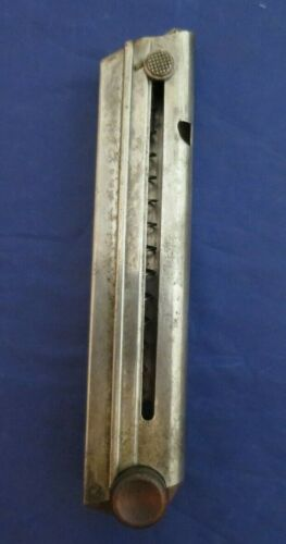 Luger 1902 - 1906 Cal 9MM Marked 8 round magazine
