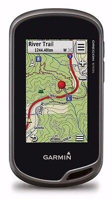 Garmin Oregon 650T Dual Battery System Handheld Gps Glonass 3 Axis 010 01066 30