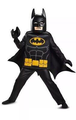 Batman Lego Costume (LEGO The Batman Movie | Batman Child Halloween Costume | Boys Child Medium)