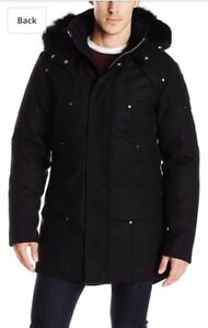 Men's Large Moose-knuckle Wool Parka LARGE. LIMITED EDITION