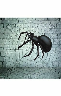 7 Feet Halloween Spider Cob Web Decoration Pack Giant Party Spooky Decoration Uk](Giant Halloween Spider Uk)